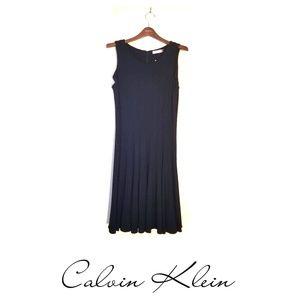 **NWT** Calvin Klein Sleeveless Little Black Dress
